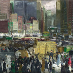 George Bellows Modern American Life Review Art And Design The
