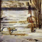 George Bellows Morning Snow Painting