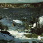 George Bellows Paintings North River Painting