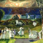 George Bellows Romance Autumn Art Painting Off