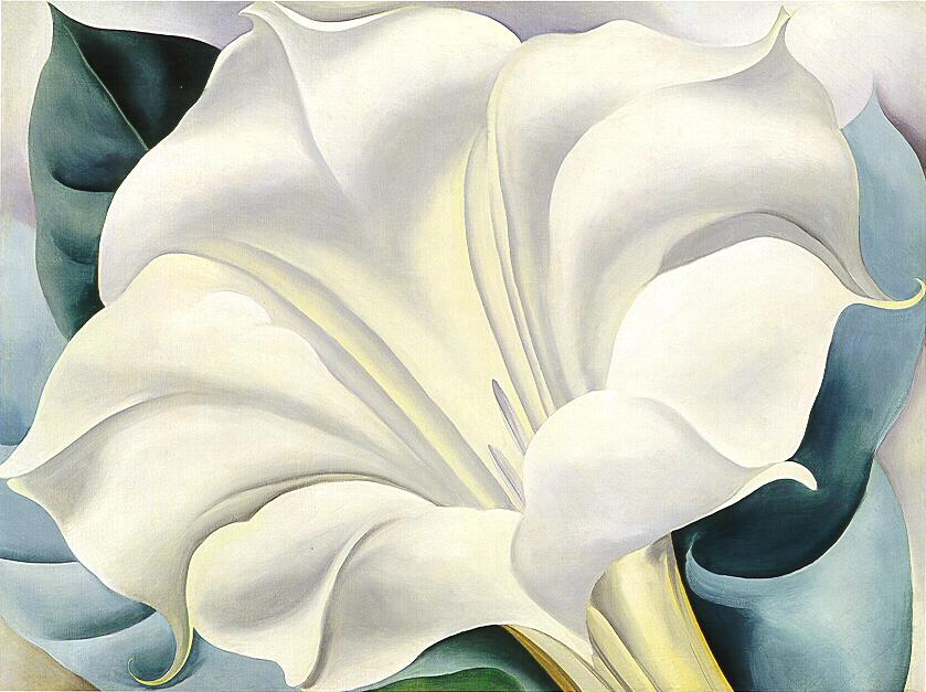 Georgia Keeffe Paintings All Painting Off