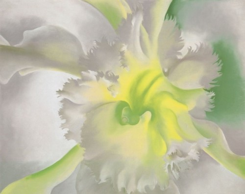 Georgia Keeffe Paintings Orchid Painting