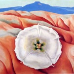 Georgia Keeffe Paintings Red Hills Near Abiquiu New Mexico