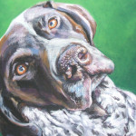 German Shorthaired Pointer Painting Fine