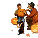 Ghostly Gourds Norman Rockwell Wikipaintings