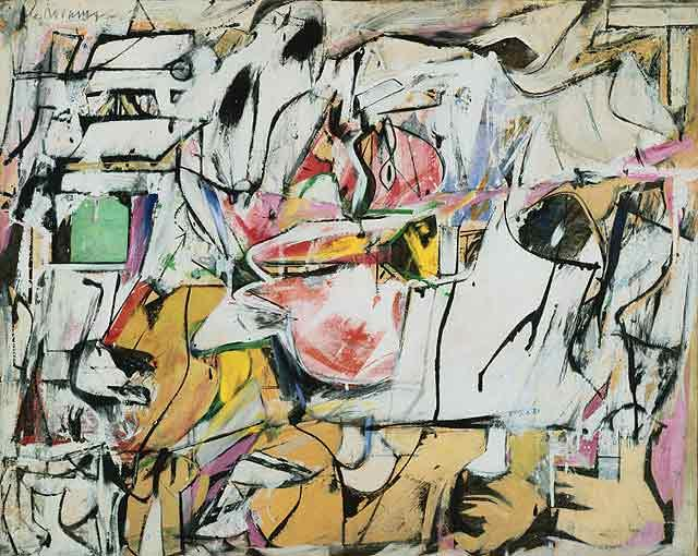 Ghosts The Great Highway See This Willem Kooning Moma