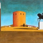 Giorgio Chirico His Famous Surrealist Painting The Red Tower