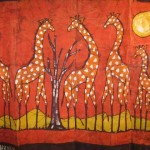 Giraffe Batik The Adventures Chloe And Chris