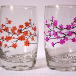 Glass Painting Glasses Albergo Dreams