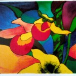 Glass Paintings Art Gallery For Sale Beautiful Flowers