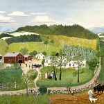 Grandma Moses Goes The Big City Wikipaintings