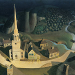 Grant Wood American The Midnight Ride Paul Revere
