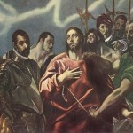 Greco Paintings The Disrobing Christ Painting