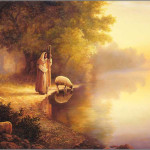 Greg Olsen Beside The Still Water Spiritual Inspirational