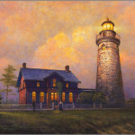 Greg Olsen Fairport Lighthouse Art