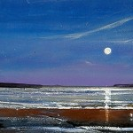Grote Spiritual Art From Heart Yours July Nighttime Beach