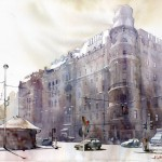 Grzegorz Wrobel Watercolor Paintings Pretty Awesome