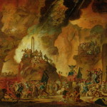 Guillotine Hell Painting Nicolas Antoine Taunay Oil