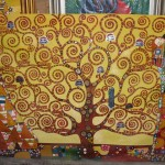 Gustav Klimt Oil Painting Art