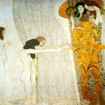 Gustav Klimt Secession Oil Paintings