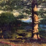 Gustave Courbet Paintings Landscape Tree