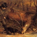Gustave Courbet Paintings The Hunt Painting