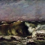 Gustave Courbet Paintings The Wave Painting