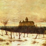 Gustave Courbet Paintings View Neuenburger