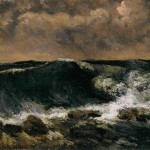 Gustave Courbet The Wave Wga Wikimedia Commons