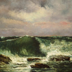 Gustave Courbet Waves Google Art Project Wikimedia