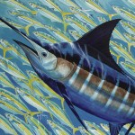 Guy Harvey Receive Artists For Conservation Simon Combes