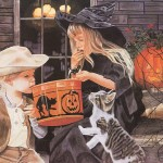 Halloween Art Paintings Various Artists Lovely