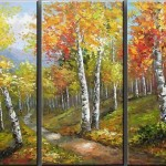 Hand Painted Landscape Oil Paintings