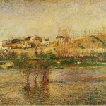 Hand Painted Oil Painting Reproduction Canvas Flood Pontoise