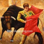 Hand Painted World Culture Spanish Oil Paintings For Wholesale