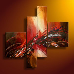 Handmade Abstract Oil Painting China Paintings