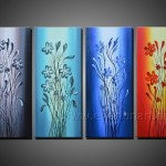 Handpainted Abstract Oil Painting Large Image For