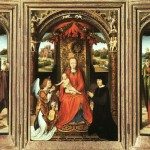 Hans Memling Paintings Triptych Painting
