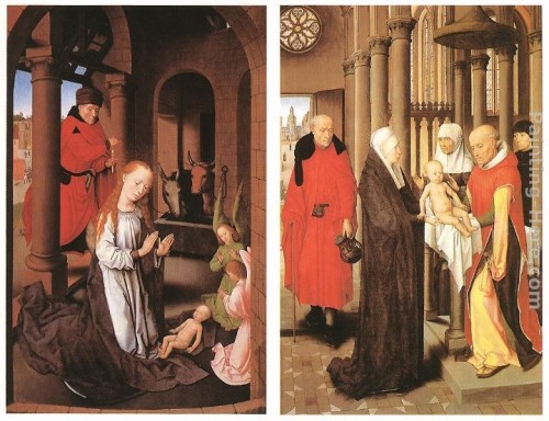 Hans Memling Wings Triptych Painting Best Paintings For Sale