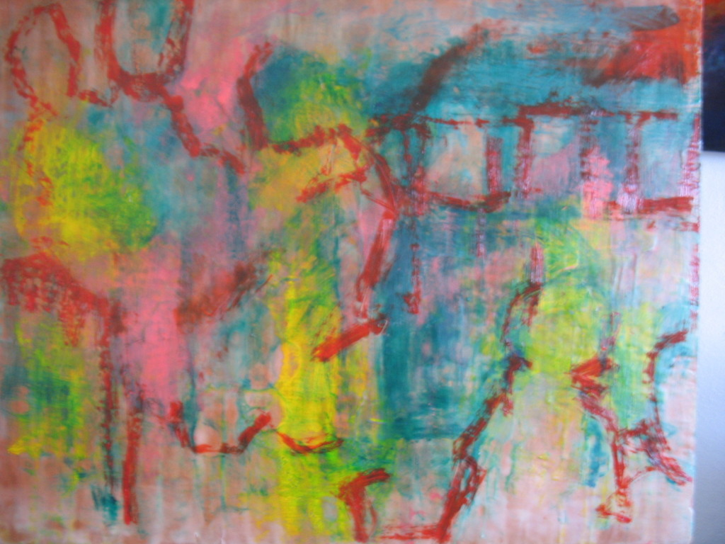 Have Been Working The Oil And Encaustic Painting For Several Days