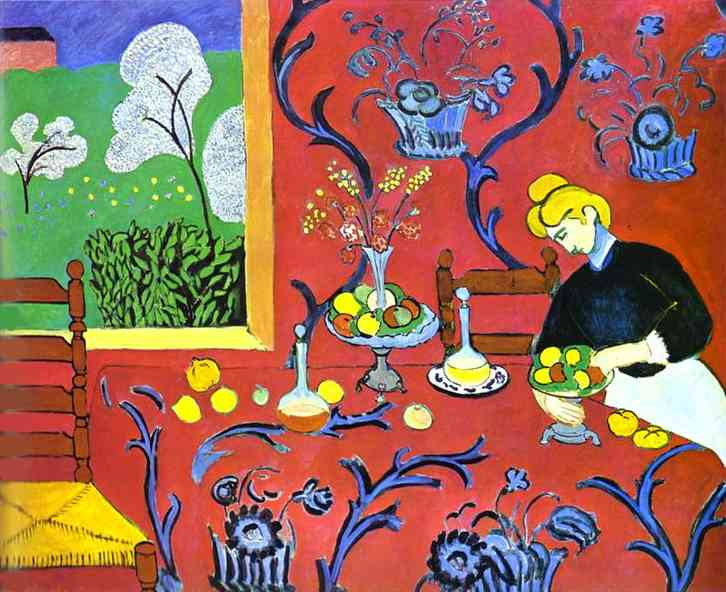 Henri Matisse Famous Paintings Index