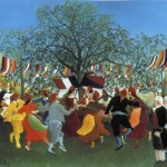 Henri Rousseau Centennial Independence Painting