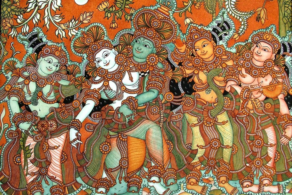 Heritage India Kerala Mural Paintings