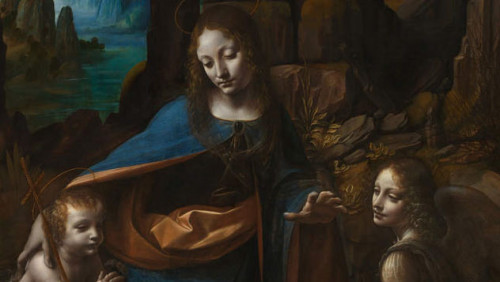Hidden Underneath One Leonardo Vinci Paintings Art