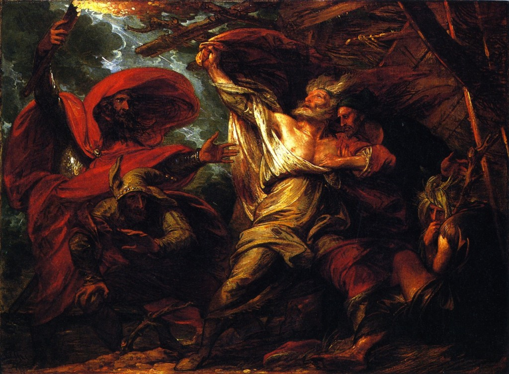 Higher And Further Benjamin West King Lear