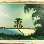 Highwaymen Painting Sam Newton Florida Landscape