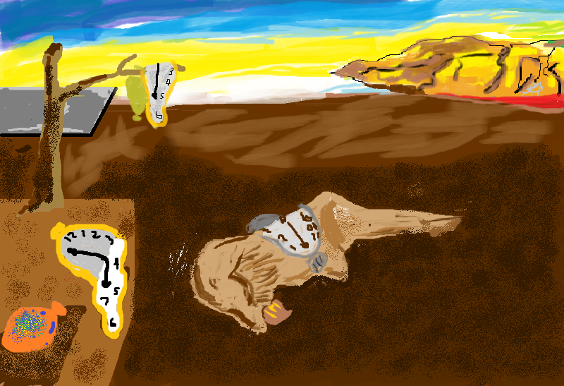 Hobby Continues Check Out This Knock Off Salvador Dali