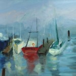 Home Coastal Paintings Moss Landing Boats Sold