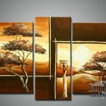 Home Decor Art Group Oil Painting