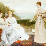 Home Living Fabric Paintings The Victorian Era